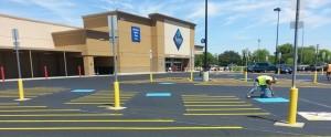 sams club parking lot